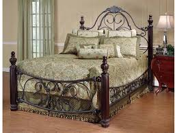 ideas for antique wrought iron bed design 8729