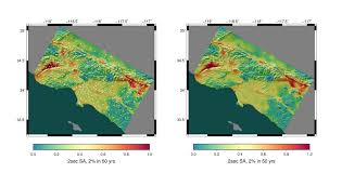earthquake hazard map gpu powered computing detects quake hazard nvidia blog
