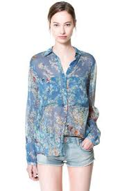 light blue button down shirt women s light blue floral butterfly semi sheer shirt 011696 womens shirts