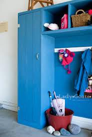 diy kids lockers white modular locker single locker diy projects