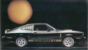cobra mustang pictures mustang ii cobras king cobras 1976 1978 phscollectorcarworld