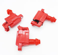 lexus is300 red 3 pcs ignition coil packs for 1jz 2jz vvti supra jzx100 chaser