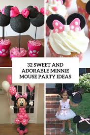 minnie mouse party 32 sweet and adorable minnie mouse party ideas shelterness