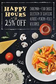 pasta restaurant free flyer template u2026 u2026 pinteres u2026