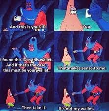 Spongebob Wallet Meme - page 2 gil s meme base