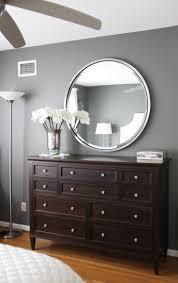 for the home bedroom ideas black peplum round mirror in bedroom