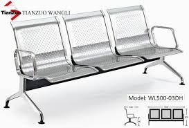stainless steel seating bench waiting room chairs link chair