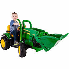 Radio Flyer Turtle Riding Toy Details About Kids Riding Tractor Peg Perego John Deere 12v
