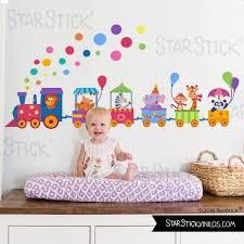 stickers animaux chambre bébé enfant avec animaux