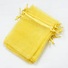gold organza bags 200pcs lot gold organza bags 7x9cm small jewelry candy gifts