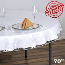 clear vinyl table protector clear vinyl tablecloth durable plastic table cover spills protector