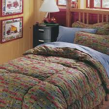 Bunk Bed Coverlets Size Wheelin Truck Bunk Bed Hugger Set With Tailored Sham