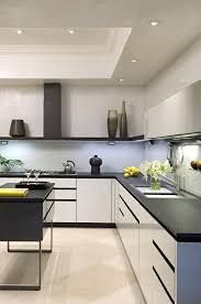 modern kitchen interiors kitchen design black white viskas apie interjerą