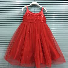 2017 christmas party dress girls princess dress chlidren sequins
