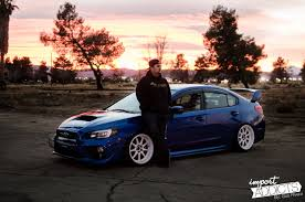 subaru wagon stance blue devil luis arevalo u0027s 2015 sti import addicts welcome to