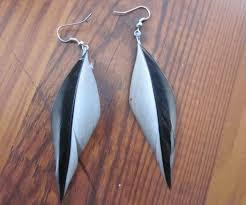 how to make feather earrings with diy feather earrings 4 steps