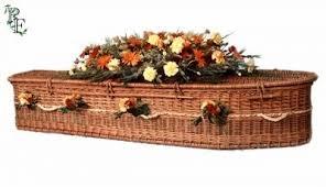 wicker casket willow coffins wicker coffins sheffield