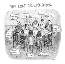 the last thanksgiving drawing by roz chast