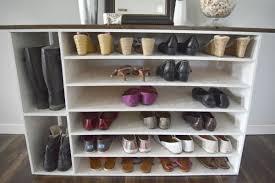 Shoe Storage Ideas Ikea by Backyards Stylish Diy Shoe Rack Perfect For Any Room Shelves