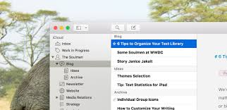 6 tips to organize your text library with ulysses ulysses blog