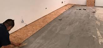 how to cut through subfloor basement subfloor options dricore versus plywood home