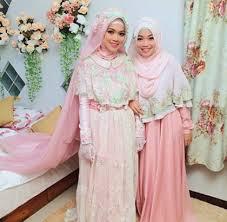 wedding dress syari mustika net muslim wedding dress