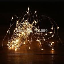 Decorating Bedroom With Lights - 10m 33ft100 leds 12v string silver copper wire led light great for