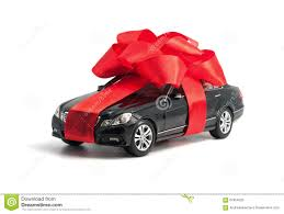 car gift bow black car with bow stock image image of 67854525