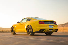 Mustang Yellow And Black Ford Mustang 2015 Automobile All Star Automobile Magazine