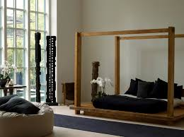the stunningly simple bed by urban zen crazy rich collection