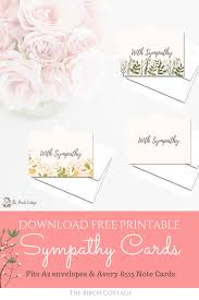 condolences cards a bundle of some heartbreaking news with printable sympathy