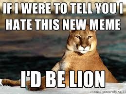 Puma Meme - bad pun puma meme on imgur