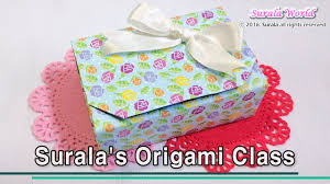paper gift boxes origami gift box with one sheet of paper