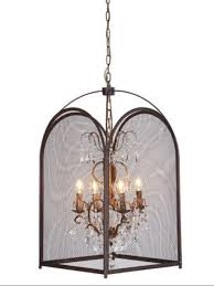 Glamorous Chandeliers 12 Best Collection Of Cage Chandeliers