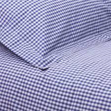 Double Duvet Cover Sets Uk Navy Gingham Double Duvet Set Children U0027s Bedding Babyface