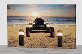 led wall led canvas light nature scenery light pictures