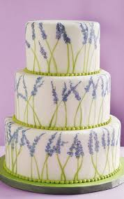 wedding cake lavender painted lavender wedding cake a wedding cake
