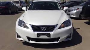 lexus cars 2011 pre owned white 2011 lexus is 250 awd leather with moonroof review