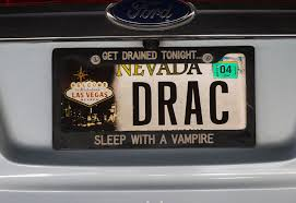 personalize plates nevada drivers their vanity plates las vegas review journal