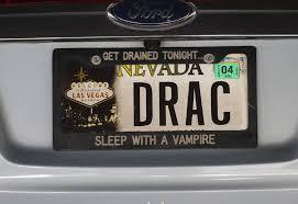 Popular Vanity Plates Nevada Drivers Love Their Vanity Plates U2013 Las Vegas Review Journal