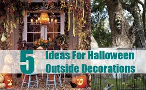Halloween Decorations Outdoor Ideas by Halloween Decorations For Outside Outdoor Halloween Decoration