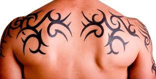 upper back tribal tattoos for men eemagazine com