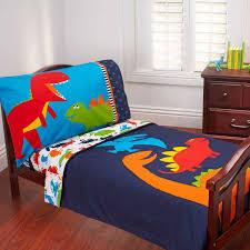 carter u0027s 4 piece toddler bed set prehistoric pals walmart com