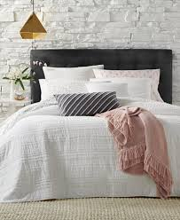 Martha Stewart Duvet Covers Martha Stewart Collection Eyelash Stripe Quilt And Sham Collection