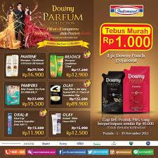 Parfum Di Alfamart beli produk p g di indomaret dapatkan downy rp 1000 berita terbaru