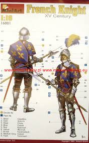 knight xv french knight xv c miniart 16001