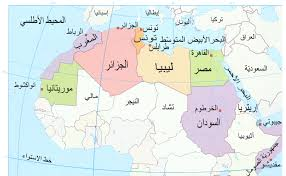map with names of countries in africa arab map countries major tourist attractions maps best of