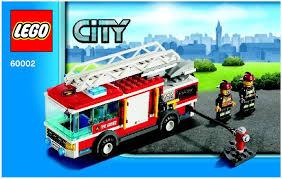 truck instructions city fire truck instructions 60002 city