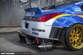 nissan 350z rear bumper bye bye v6 hello 1000hp 2jz speedhunters