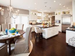 Transitional Kitchen Ideas Download Dark Wood Floors In Kitchen Gen4congress With Regard To